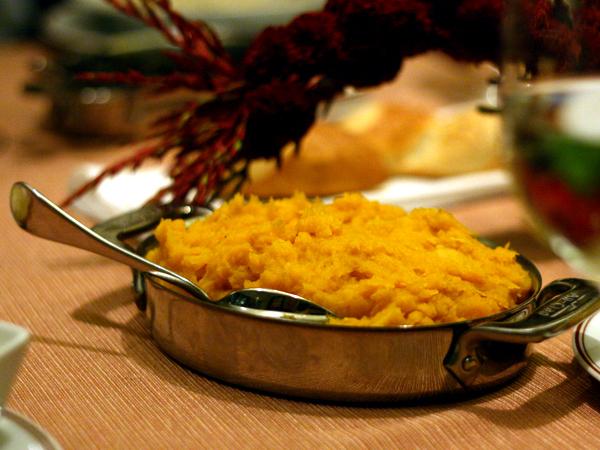 Bouchon - butternut squash side dish