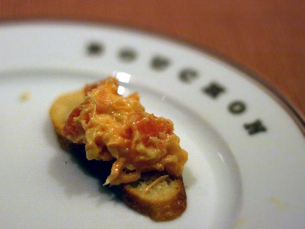 Bouchon - salmon rillette