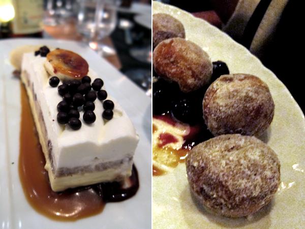 Cut, Beverly Hills - banana cream pie, doughnuts