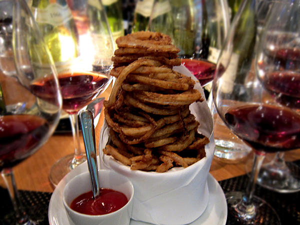 Cut, Beverly Hills - onion rings