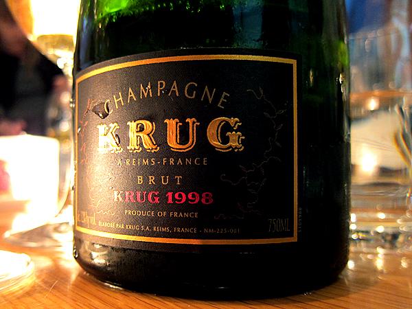 Champagne Krug 1998