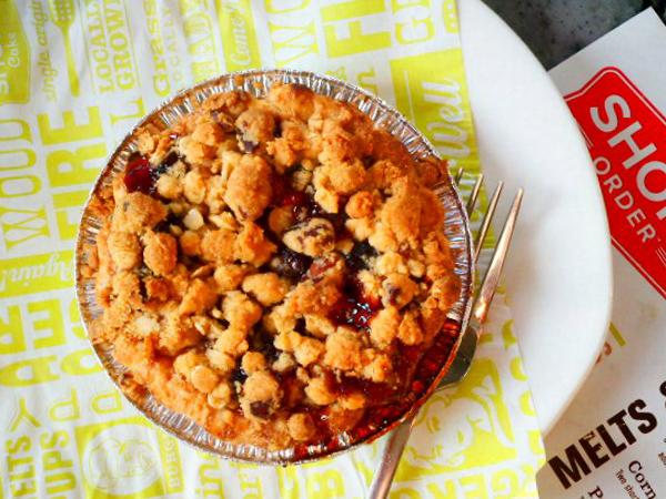 Short Order, Farmers Market, Los Angeles - Cranberry Pie