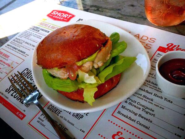 Short Order, Farmers Market, LA - tuna burger