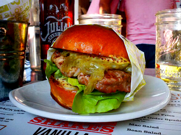 Short Order, Farmers Market, LA - Turkey Burger