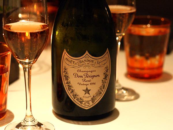 Dom Perignon Rose Champagne 1996