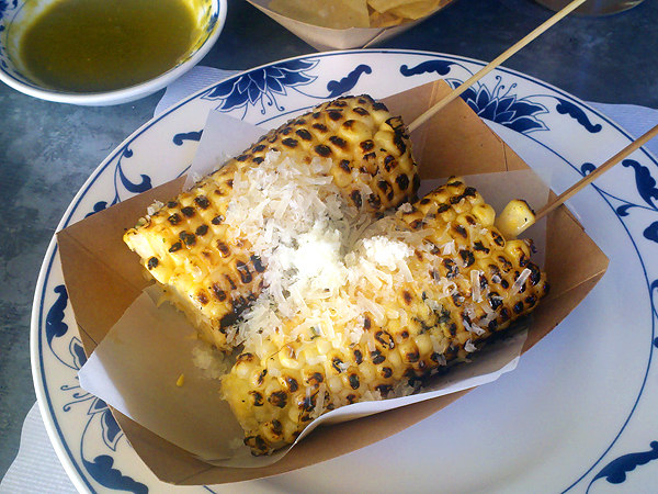 Escuela Taqueria - grilled corn
