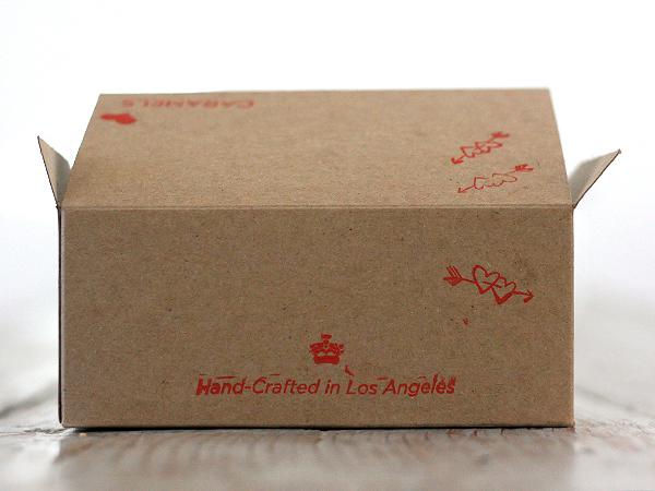 Le Bon Garcon Caramels - box back