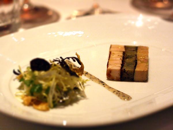 Patina Truffle Tasting: Duck Foie Gras Terrine