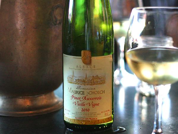 Pinot Auxerrois Schoech 2010