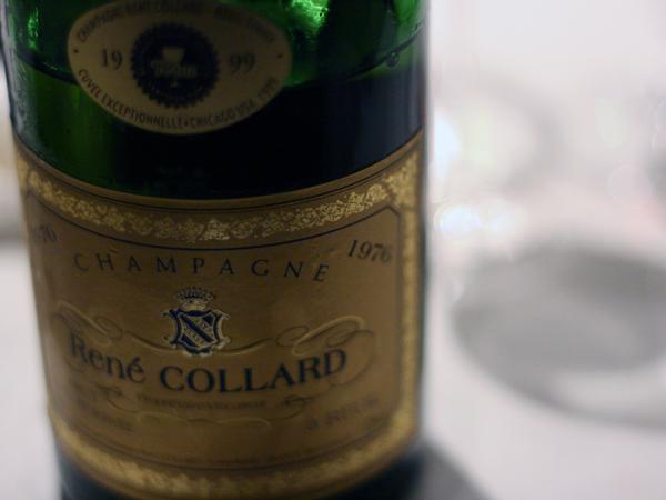 Rene Collard Champagne 1976