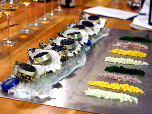 Royce at Langham - caviar service