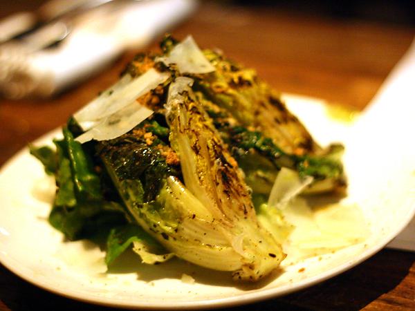 Sotto - grilled gem lettuces