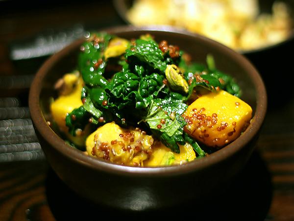 Tar and Roses, Santa Monica - tahitian squash kale quinoa