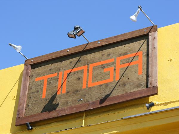 Tinga Tacos - sign