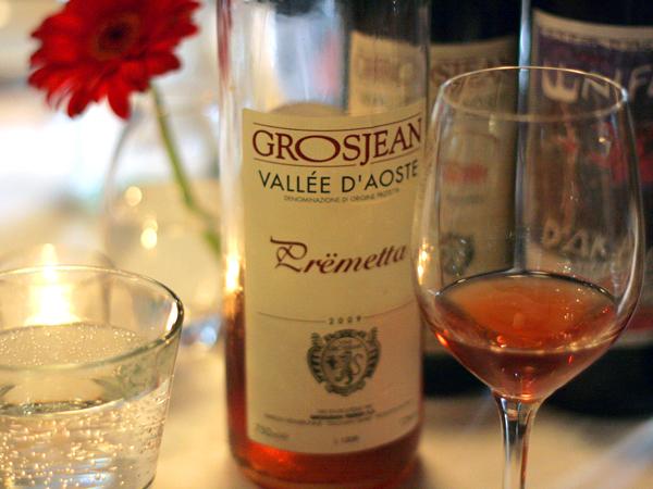 Grosjean Premetta wine