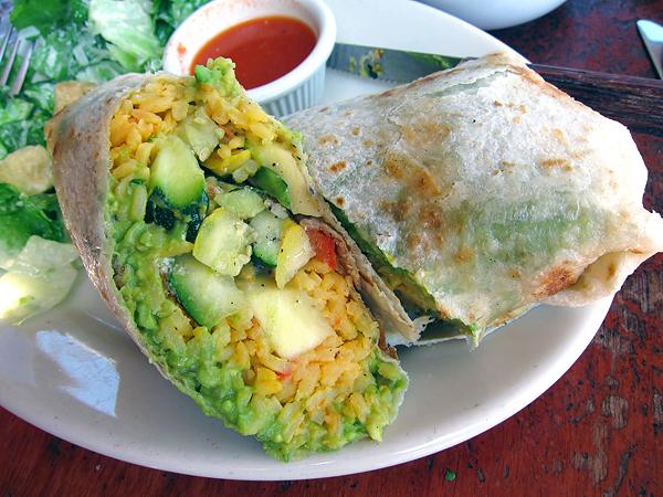 Kings Road Cafe - Vege Burrito