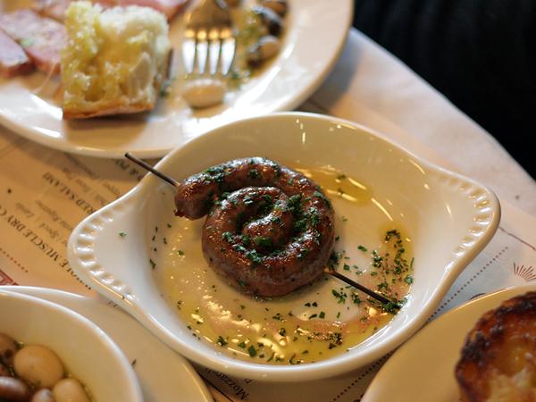 Mozza Salumi Bar - lamb sausage