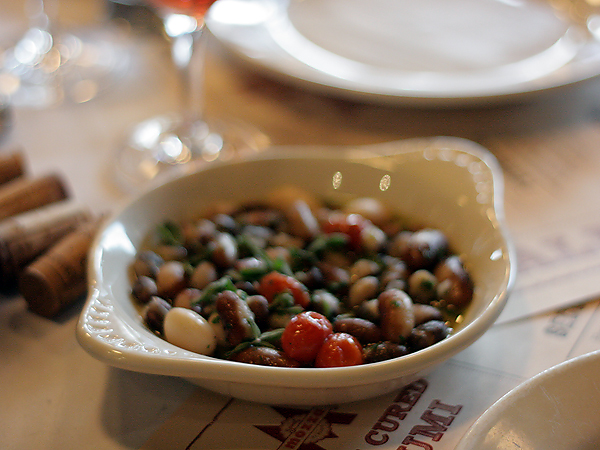 Mozza Salumi Bar - shell beans
