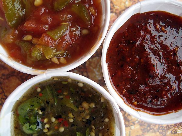 Viva Fresh Mexican Grill - Fresh Salsas