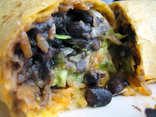 Viva Fresh Mexican Grill - Veggie Burrito