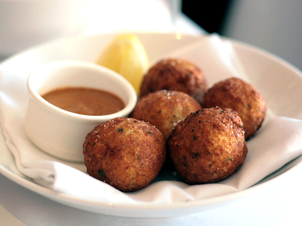 Gusto restaurant - baccala (salt cod)
