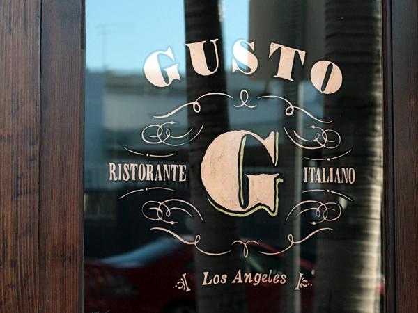gusto - front door