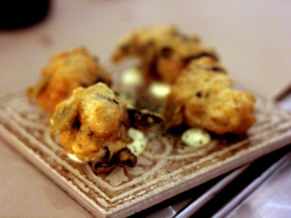 alma- seaweed beignets