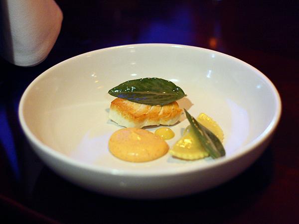 Allumette restaurant - halibut