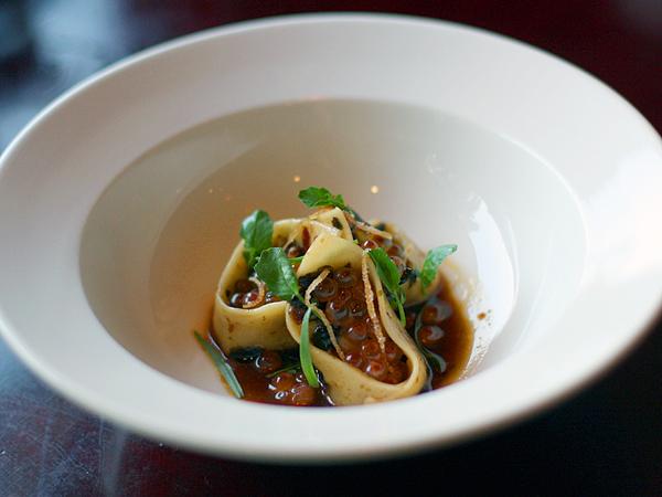 Allumette restaurant - pork dumpling