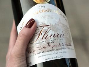 chapelle des bois fleurie beaujolais wine