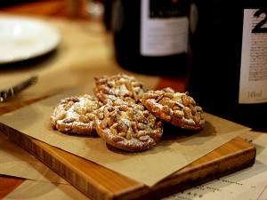 spacca restaurant - pine nut cookies