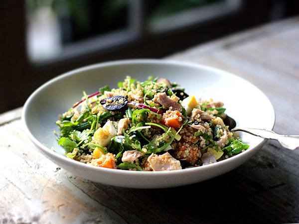 Tuna Nicoise Quinoa