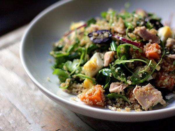 tuna quinoise, nicoise quinoa