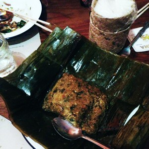 Pok Pok at Night Market - catfish tamale