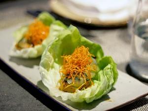 Paiche, MDR, Los Angeles - paiche lettuce wrap