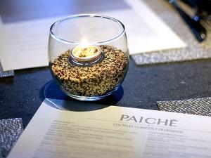 Paiche, MDR, Los Angeles - quinoa candle