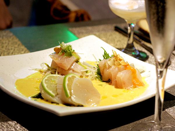 Paiche, MDR, Los Angeles - sashimi ceviche