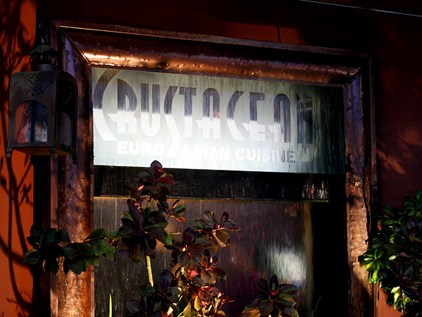 Crustacean restaurant