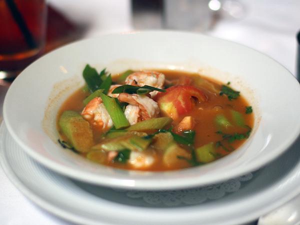 Crustacean restaurant, bouillabaise