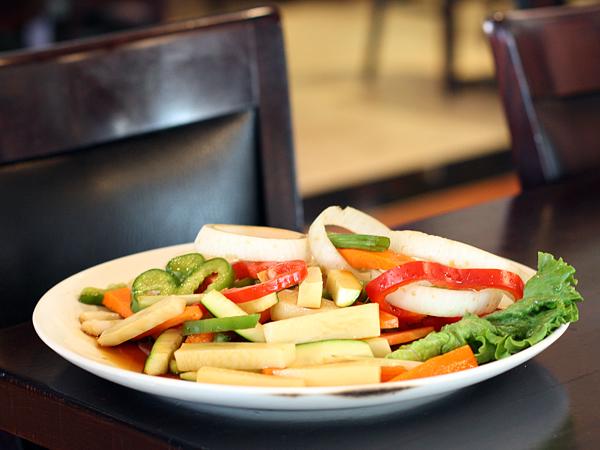 SoHyang Korean Restaurant - grilled vegetables
