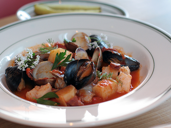 connie and ted's restaurant - portuguese fish stew