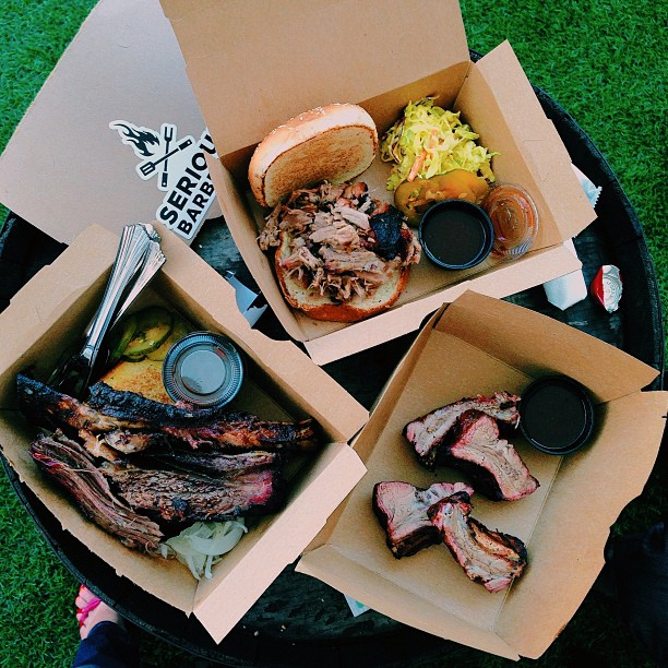 Serious BBQ Popup by Adam Perry lang