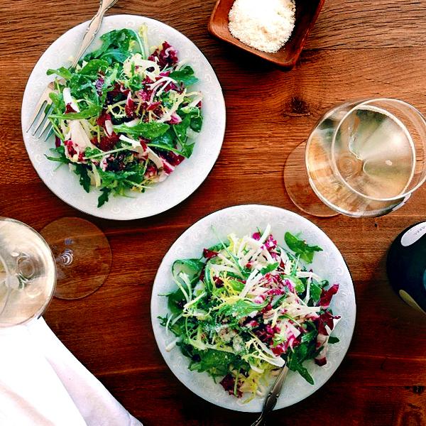 tri colore salad