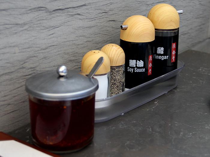 Din Tai Fung, South Coast Plaza - condiments