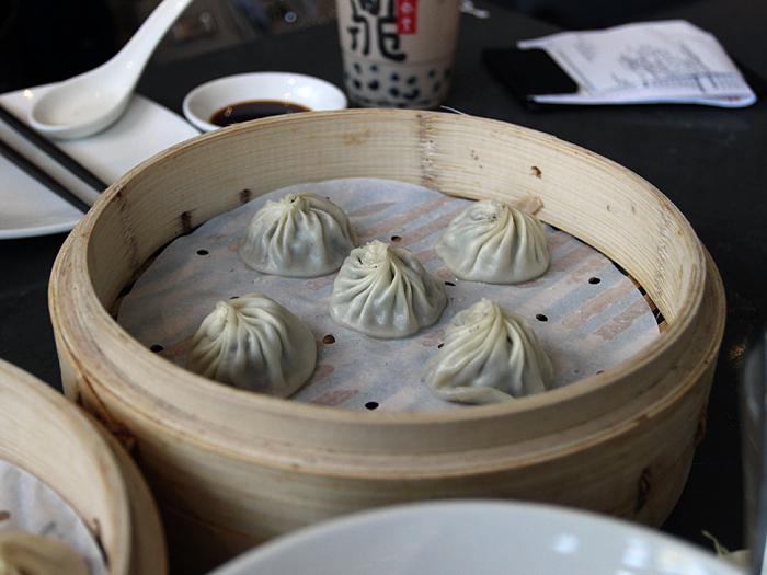 Din Tai Fung, South Coast Plaza - xiao long bao black truffle