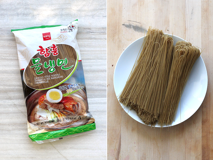 naeng myun noodle package