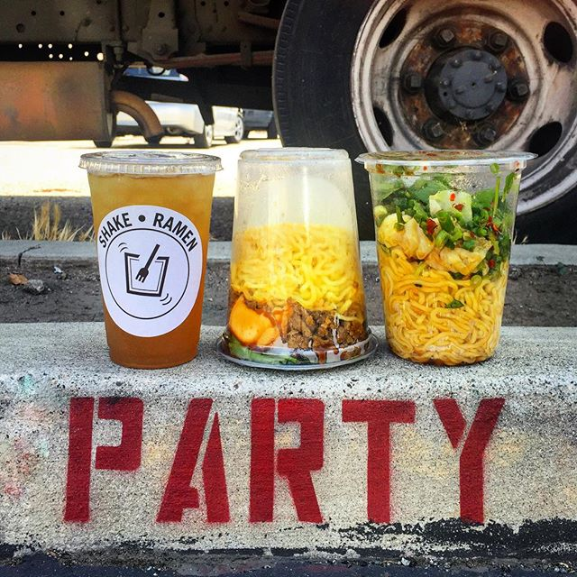 Shake Ramen Food Truck, Los Angeles