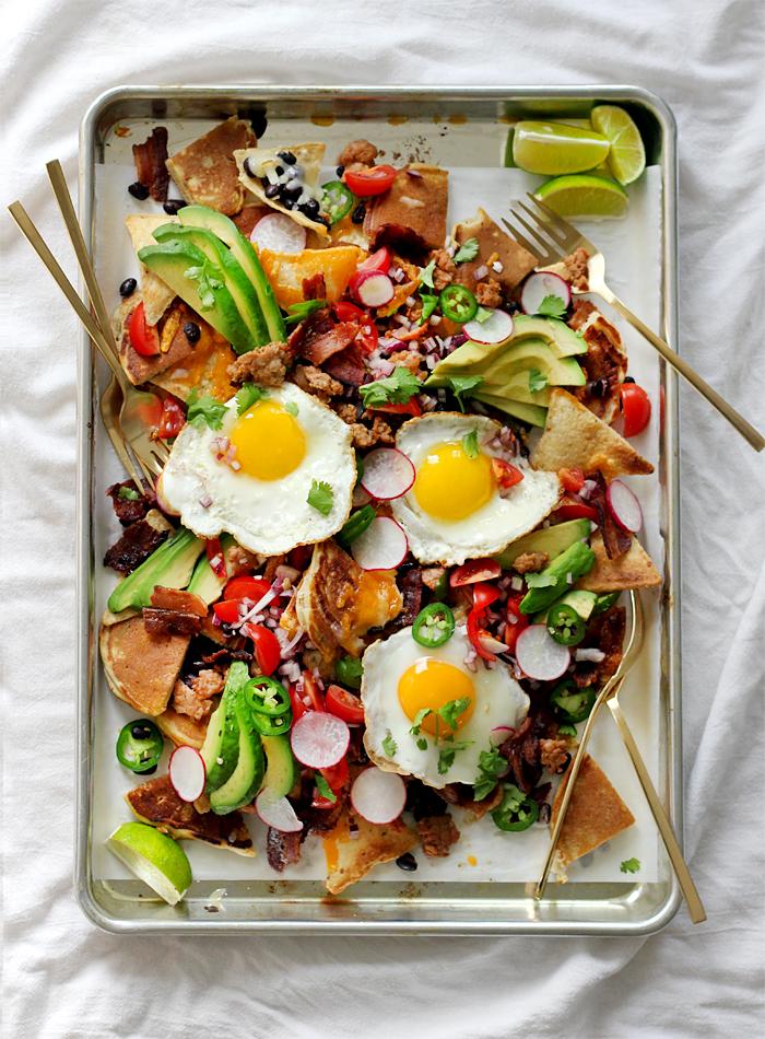pancake breakfast nachos