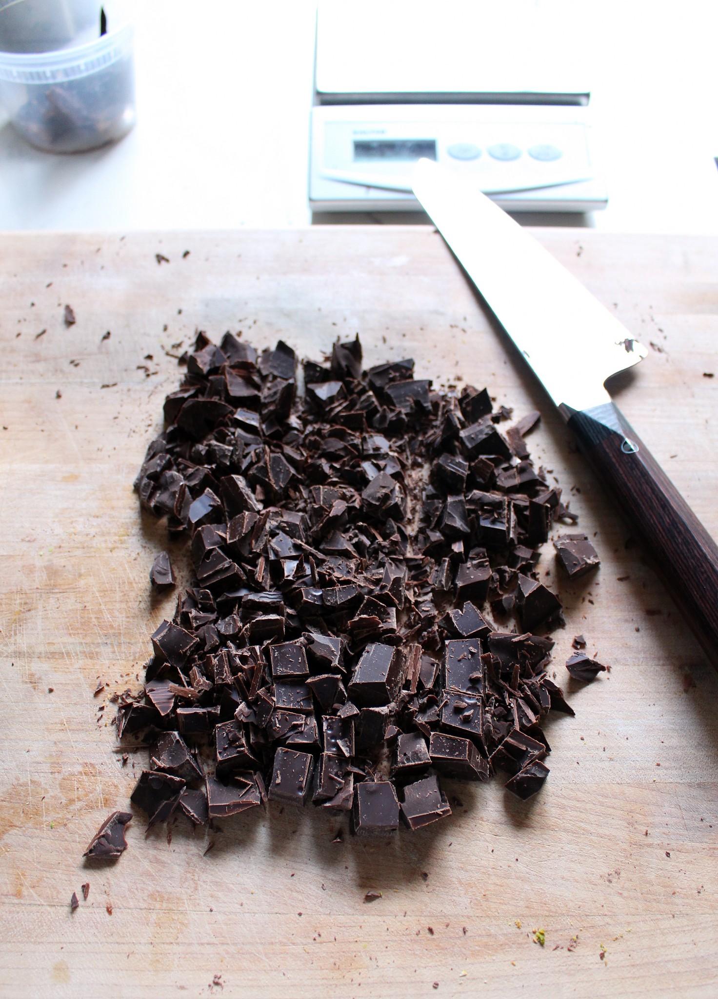 dark chocolate chopped
