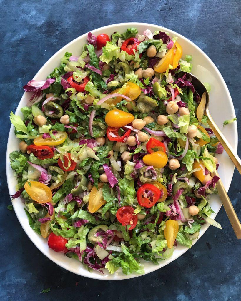 antipasto chopped salad tossed